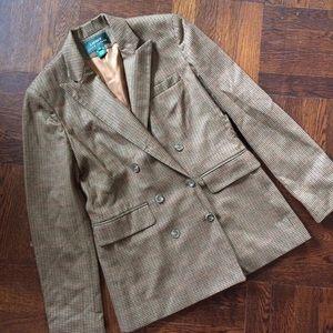 Perfect Ralph Lauren Houndstooth Riding Jacket